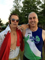 Private BarryS Coaching clients Tim and Elvis pre-race