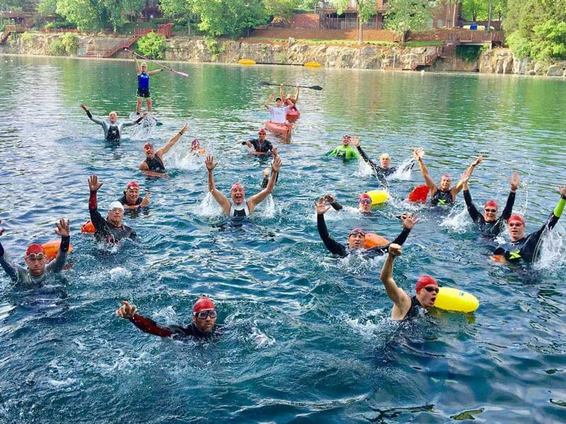 open water swim 2018