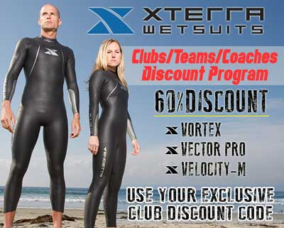 Save 60% off XTERRA Wetsuits